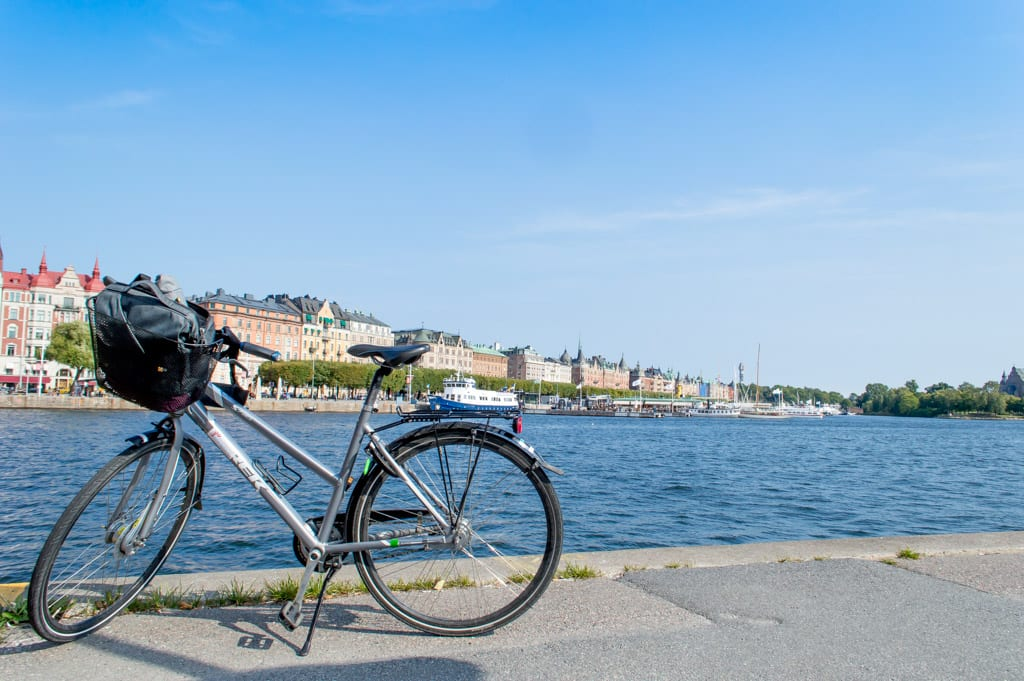 Fiets in Stockholm