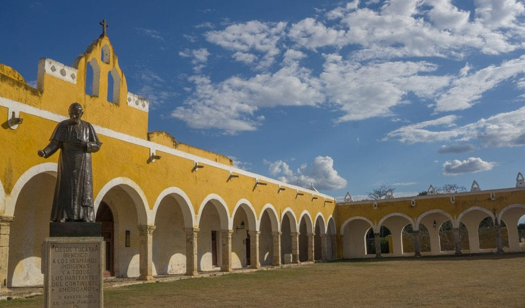 Route Mexico - Izamal