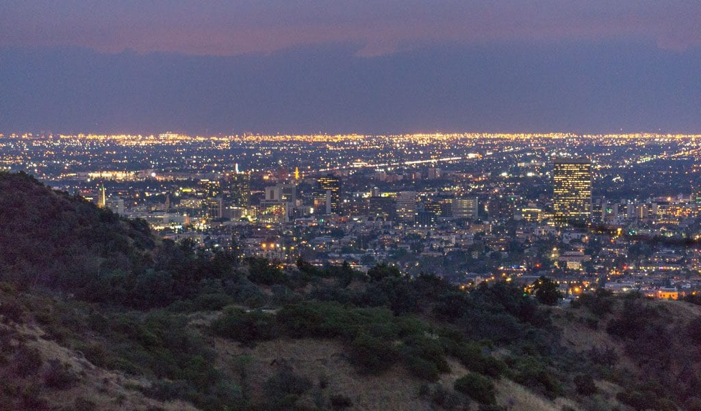 Doen in Los Angeles in een dag - View from Griffith