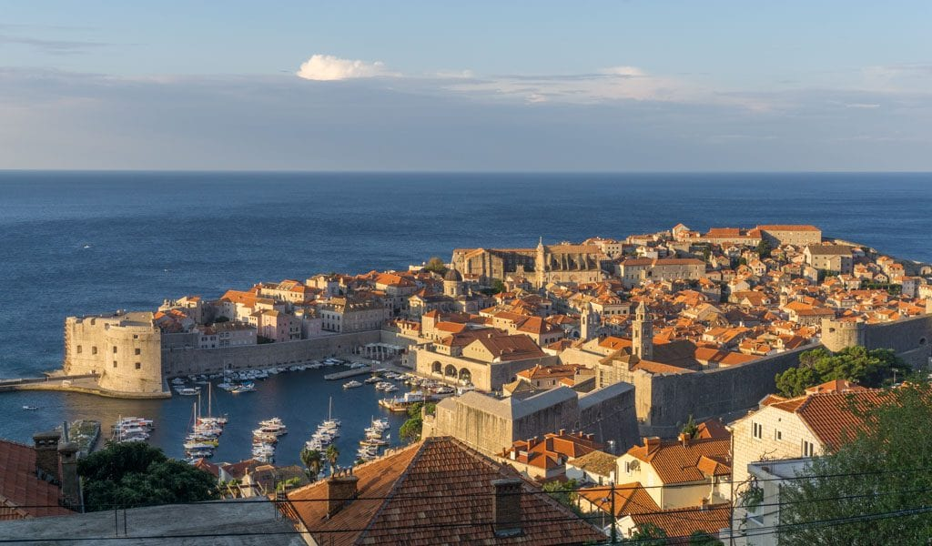 Dubrovnik - Outstanding View Guesthouse zonsopkomst