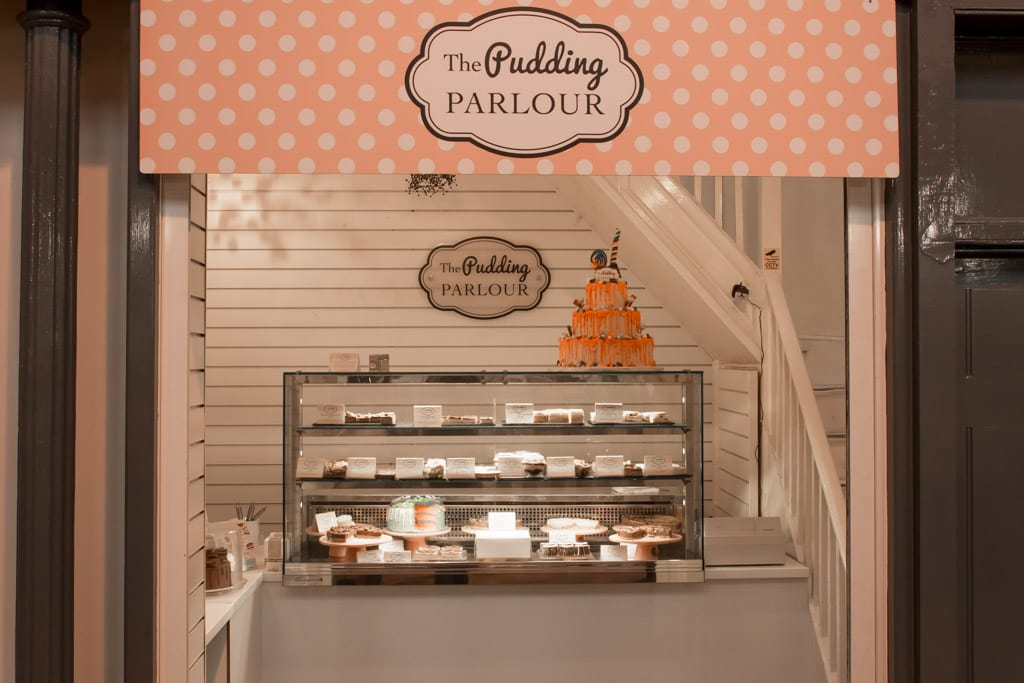 The Pudding Parlour in Grainer Market