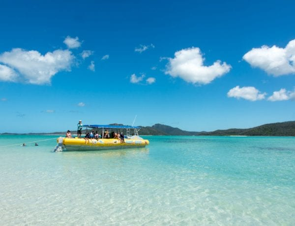 Whitsundays met Ocean Rafting