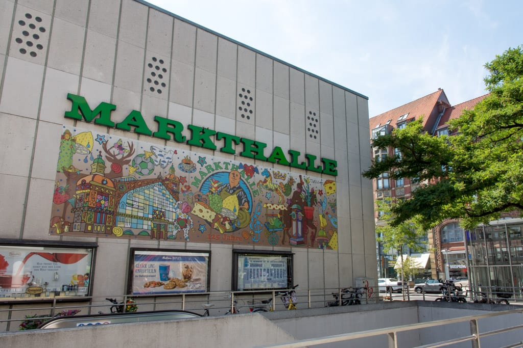 Martkhalle in Hannover