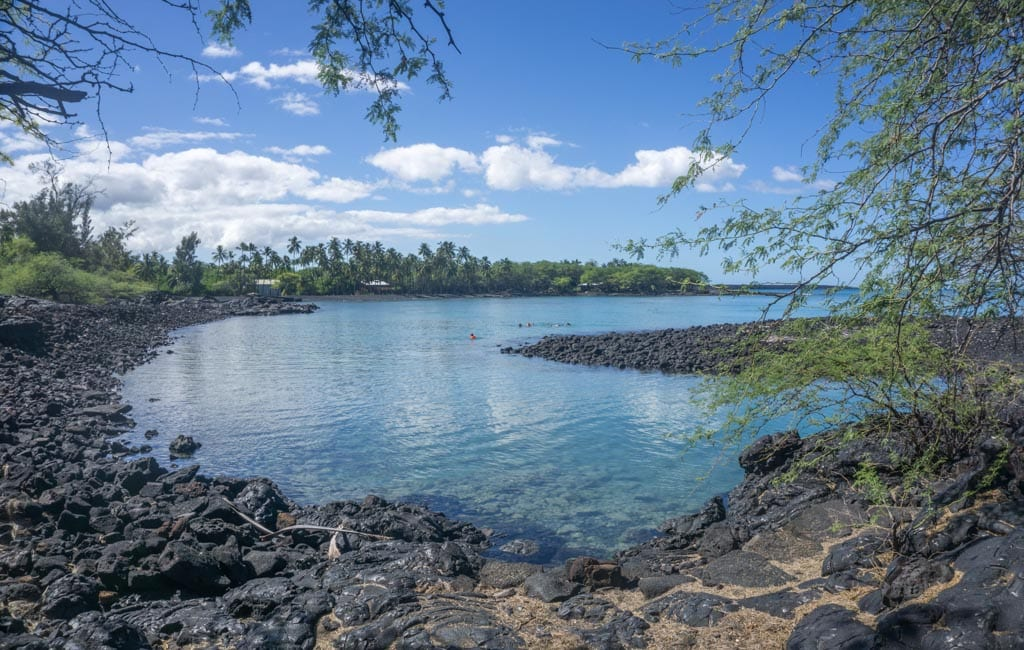 Kiholo Bay Hawaii