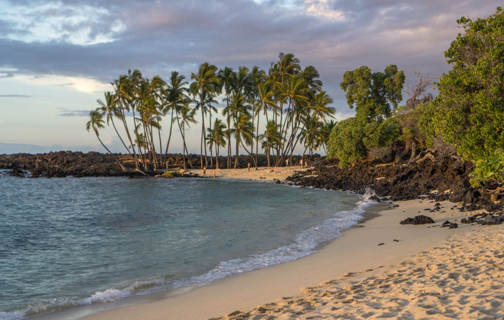 Mahai'ula beach hawaii