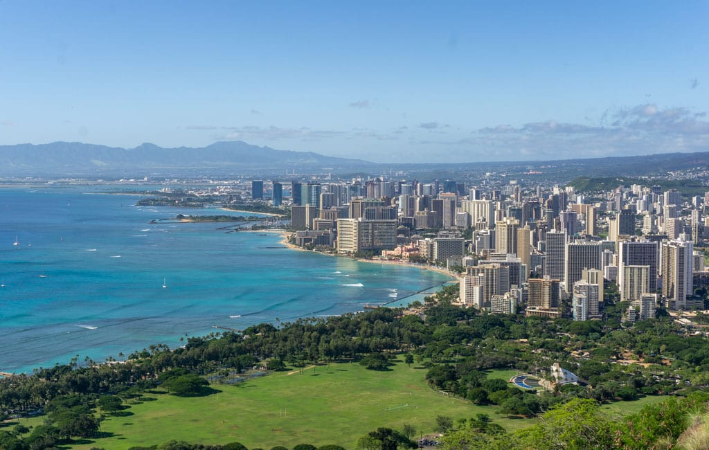 Oahu Diamond Head
